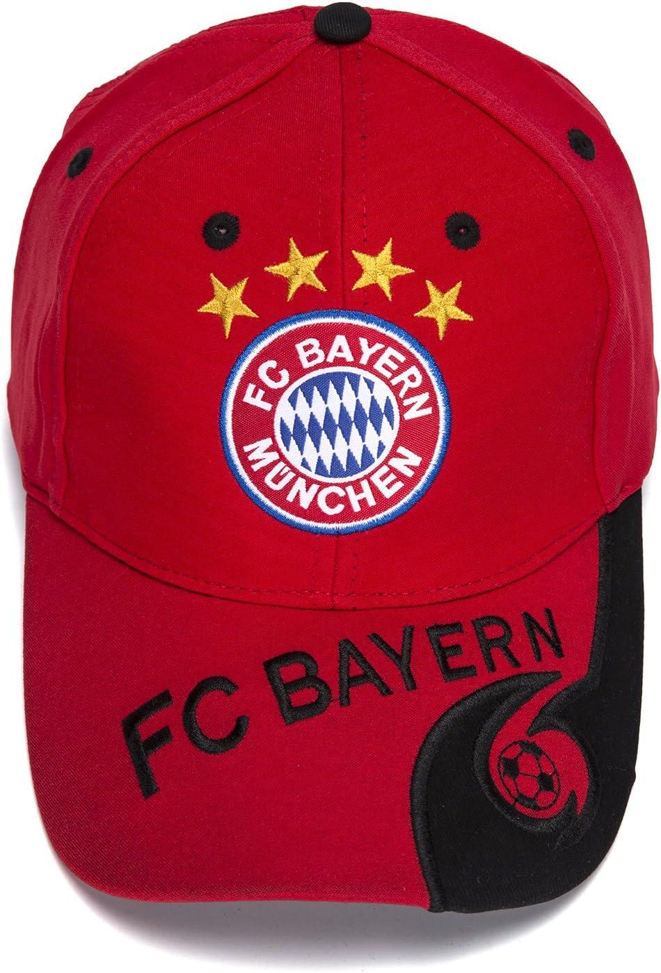 /Bestickt Authentic EPL Rot Verstellbar Baseball Cap DanielFelix Bayern Munchen FC/