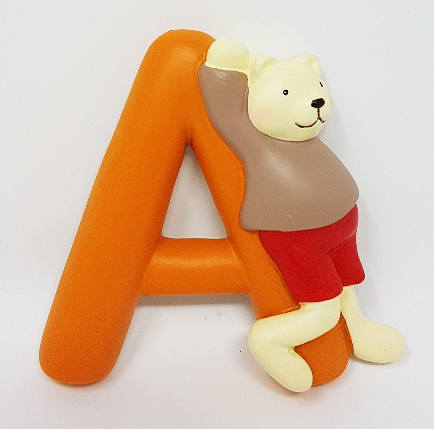 Moulin Roty - Lettre Alphabet A Orange 7cm 632837