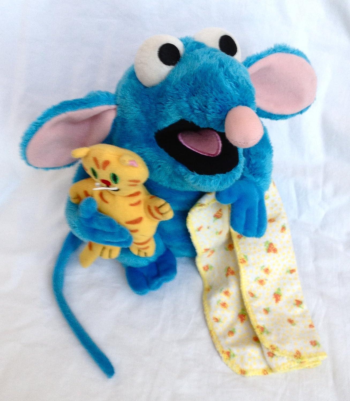 Amazoncom Disney Bear In The Big Blue House Tutter 7 Plush Mouse