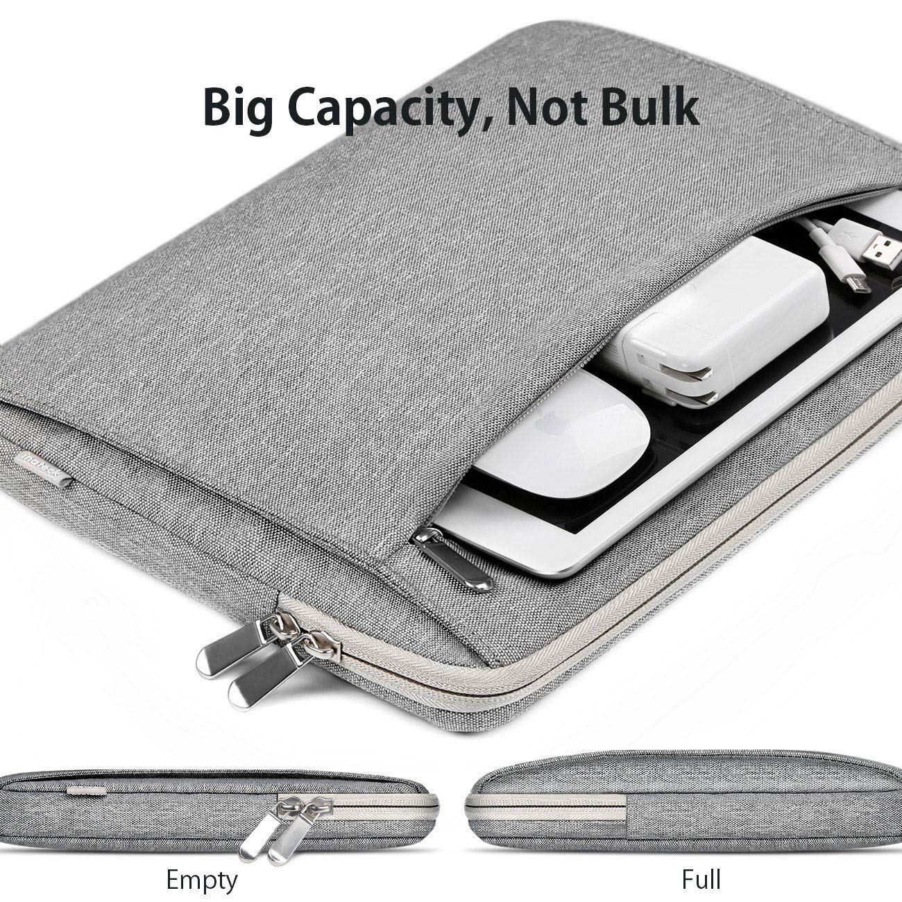 Inateck 360/° All-Round Protection Laptop Sleeve Case Shockproof Bag Compatible 12.3 Surface Pro 6//5//4//3 13 MacBook Pro 2018//2017//2016 Tablets//Ultrabooks//Notbooks 2018 MacBook Air 13