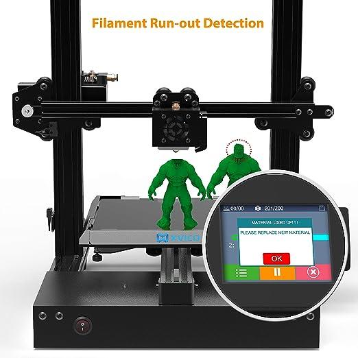 XVICO - Kit de impresora 3D con máquina de impresión de aluminio ...