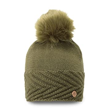 2961e54f958 Craghoppers Maria Women s Outdoor Knit Hat available in Dark Moss -  Small Medium