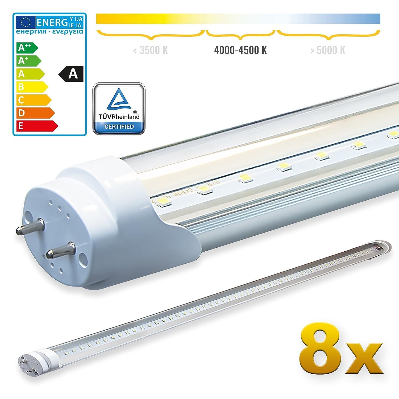 A&G LED Tube, G13, 18 W, Neutral White