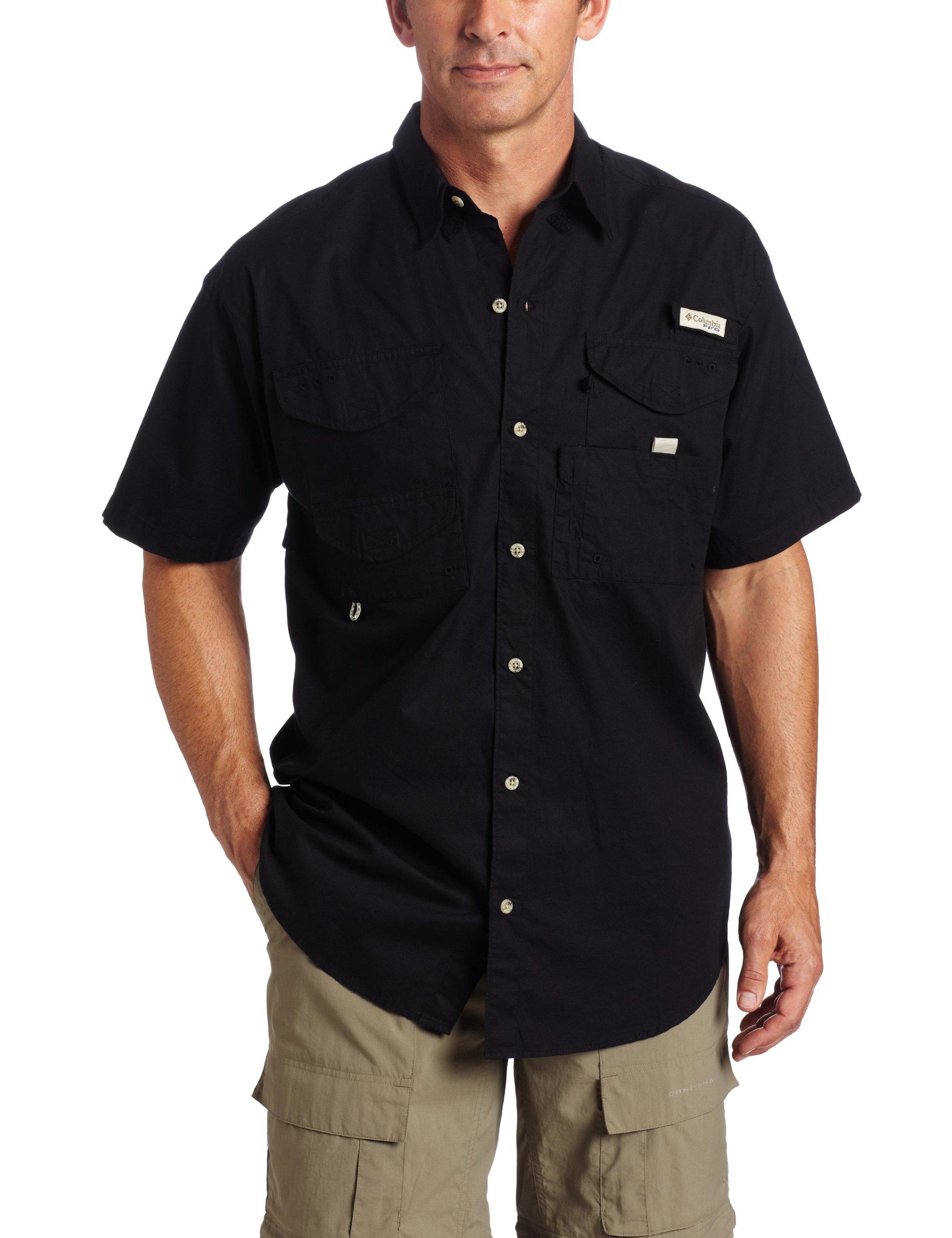 Columbia Men's Bonehead Short-Sleeve Work Shirt, Comfortable and Breathable