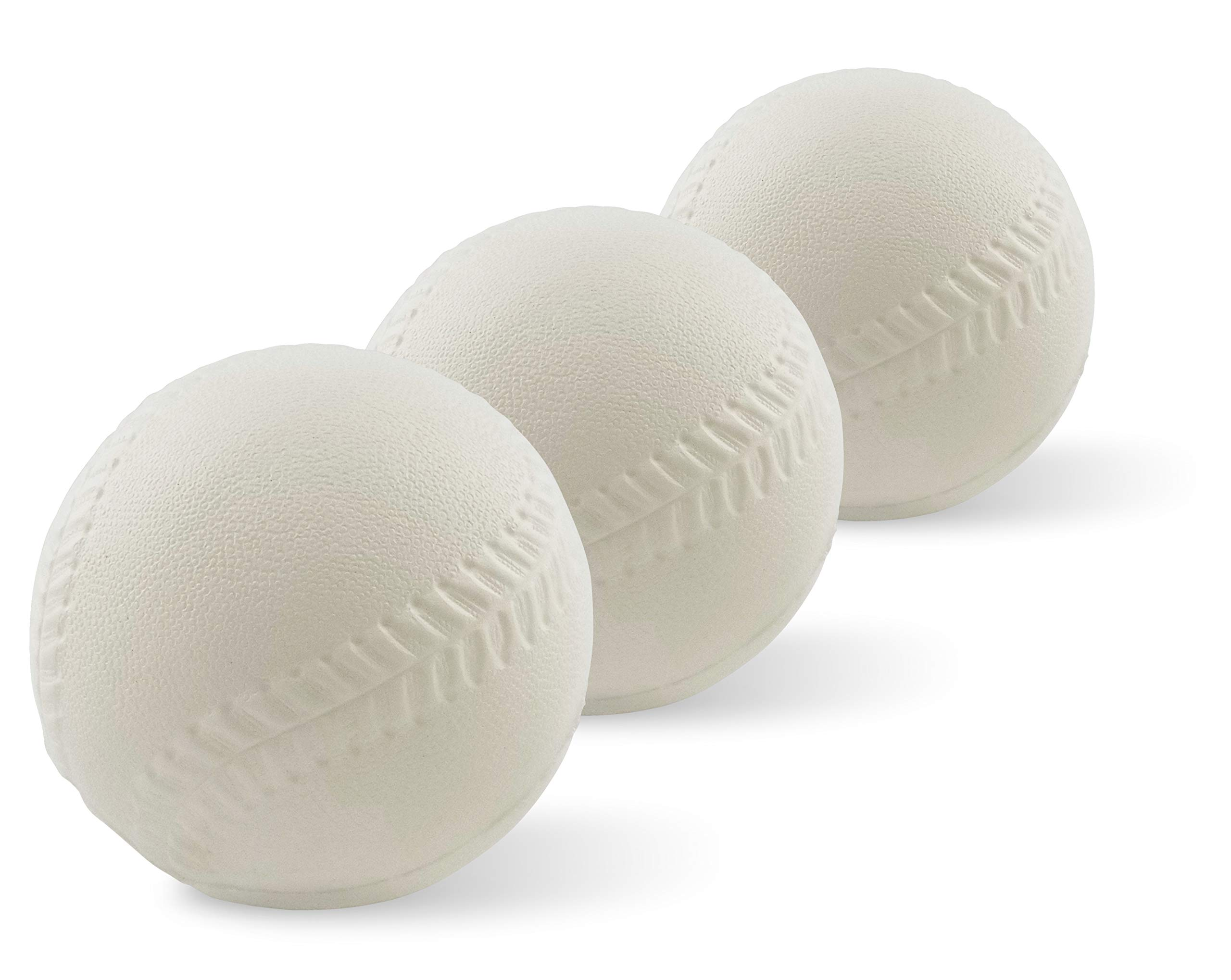 Foam Replacement Baseballs - for Fisher-Price Triple Hit Pitching Machine - 3 Pack by Botabee