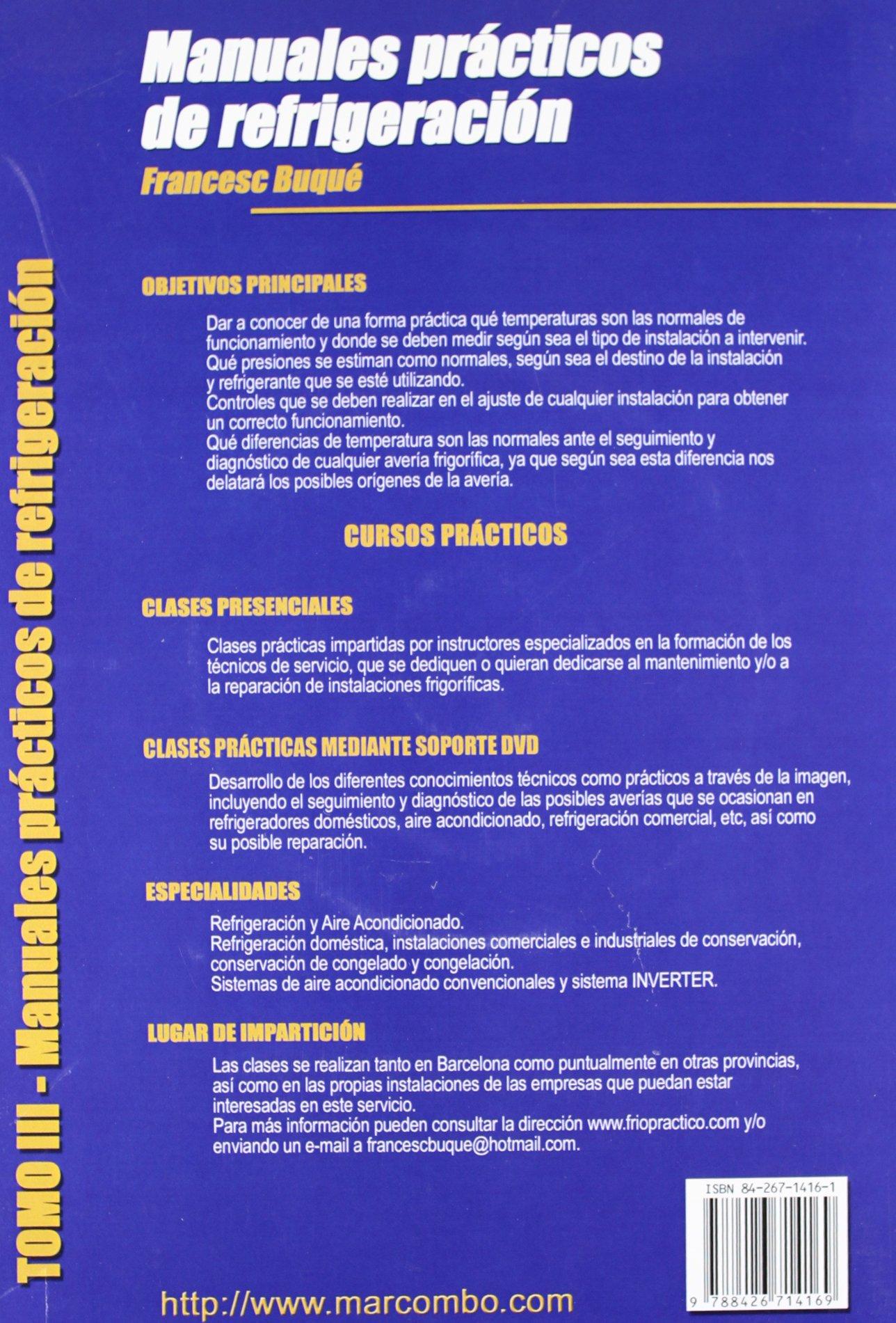Amazon.com: Manuales Practicos Refrigeracion Tomo 3 (Dvd ...