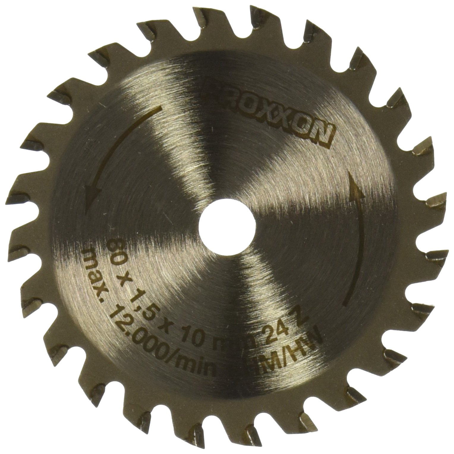 Proxxon 28734 80mm Carbide Tipped Saw Blade for FKS/E 24-Teeth