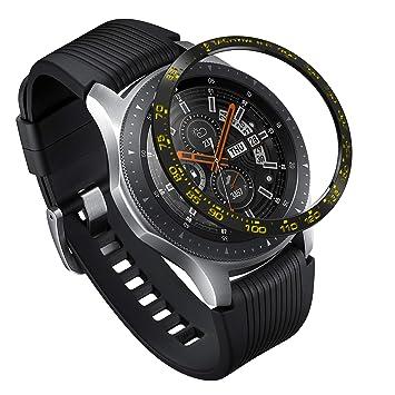 Ringke Bezel Styling pour Galaxy Watch 46mm / Galaxy Gear S3 Frontier & Classic Coque de