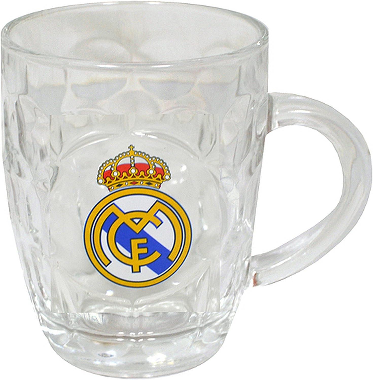 Real Madrid F.C, jarra de merchandising oficial: Amazon.es ...