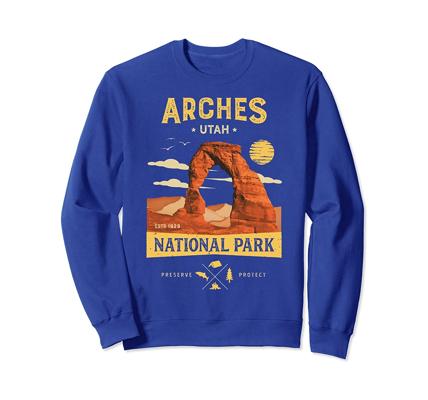 Arches Sweatshirt National Park Delicate Arch Vintage Shirt-ah my shirt one gift