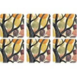 Pimpernel Dancing Branches Coasters - Set of 6