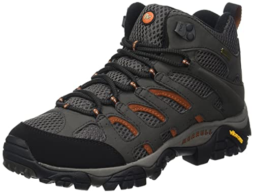 Merrell Moab Mid Gore-Tex, Women's Lace-Up Trekking and Hiking Boots -
