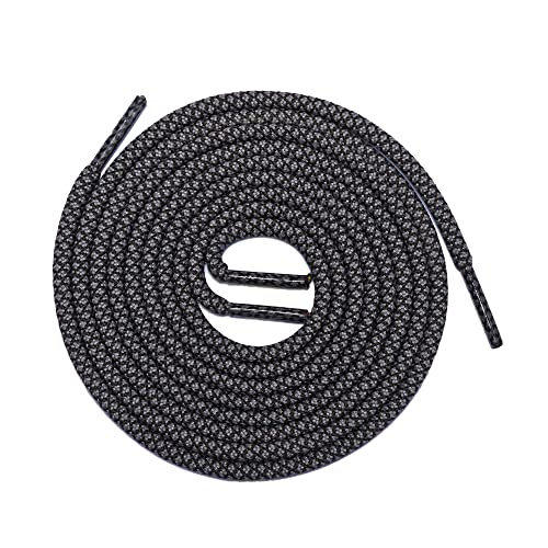 eca4dd2019f33c Thick Shoelaces Round Athletic Shoe Laces (2 Pair) - For Sneaker and Hiking  Boot