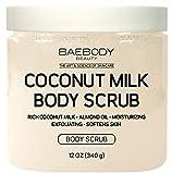 Baebody Coconut Milk Body Scrub: With Dead Sea