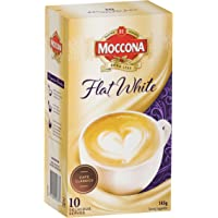 Moccona Flat White, 3 Pack, 3 packs of 10 sachets (30 sachets total)