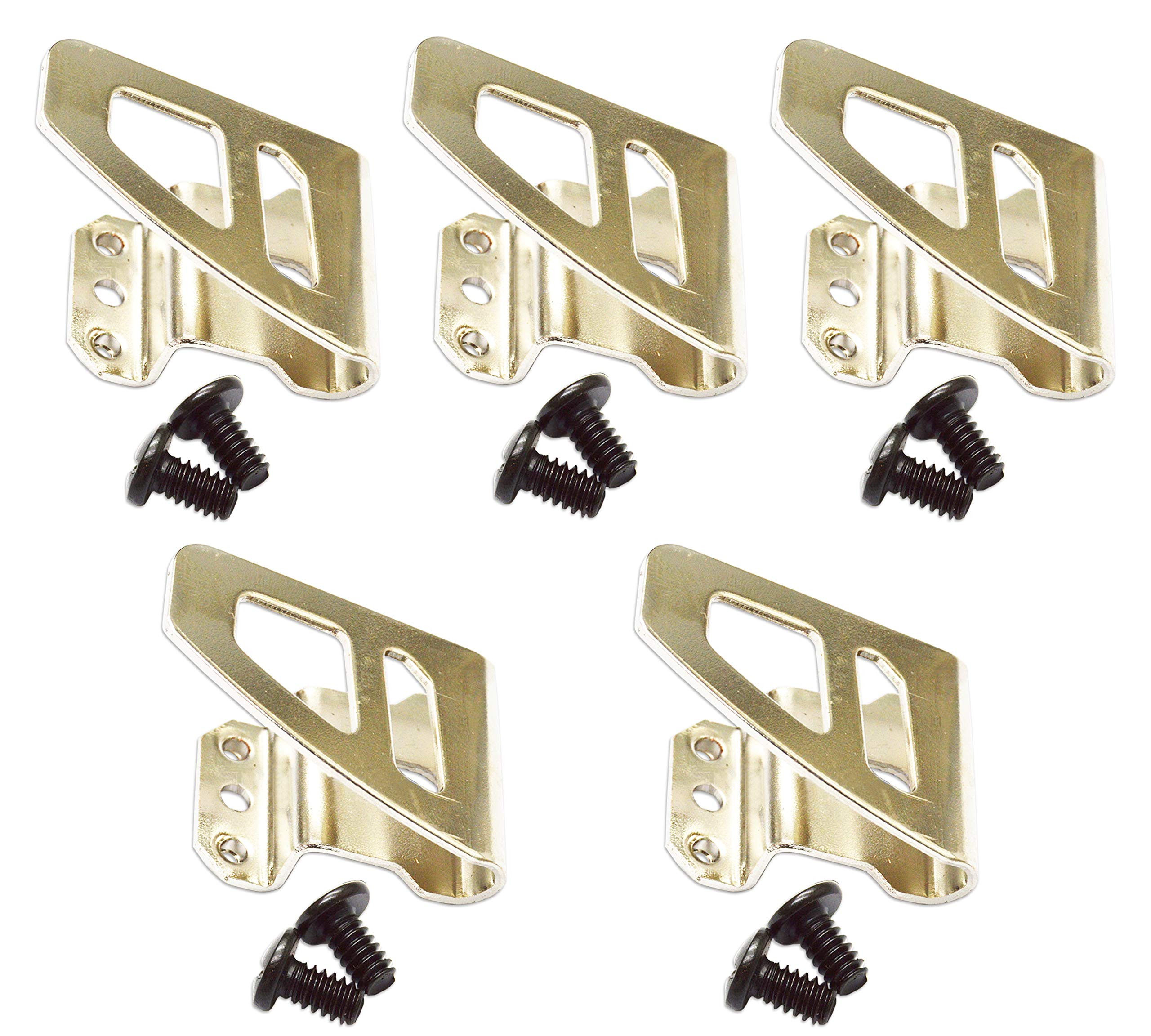 Noa Store 5x Belt clip Hook free Screw for Milwaukee M18 FUEL Impact Driver Hammer Drill