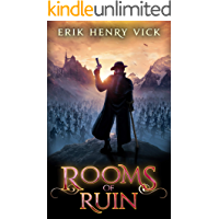 Rooms of Ruin: A Dark Fantasy Novel (Blood of the Isir Book 2) book cover