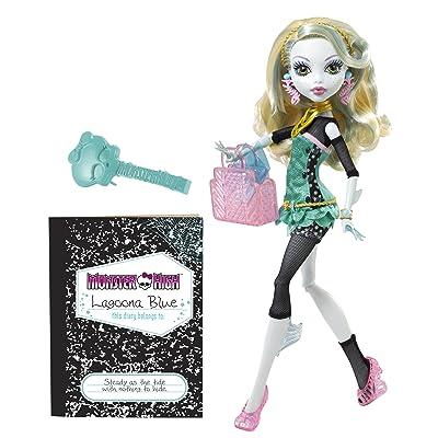 Monster High Doll - Lagoona Blue: Toys & Games
