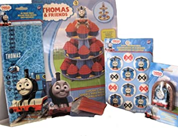 Amazon Com Thomas Friends Theme Party Supplies Birthday Or