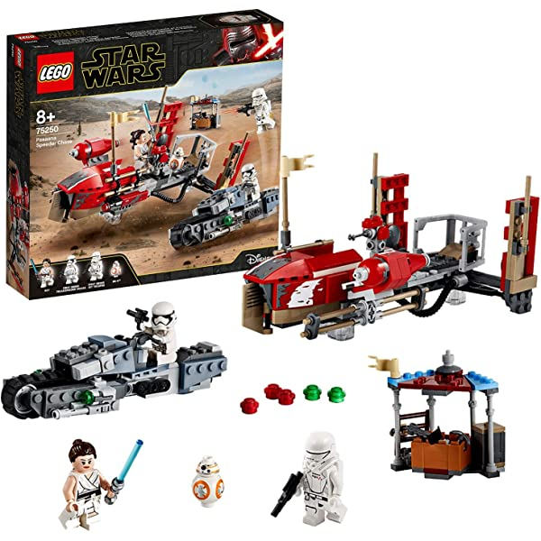 Lego Star Wars The Rise Of Skywalker Pasaana Speeder Chase 75250 Building Kit New 2019 Amazon Com Au Toys Games