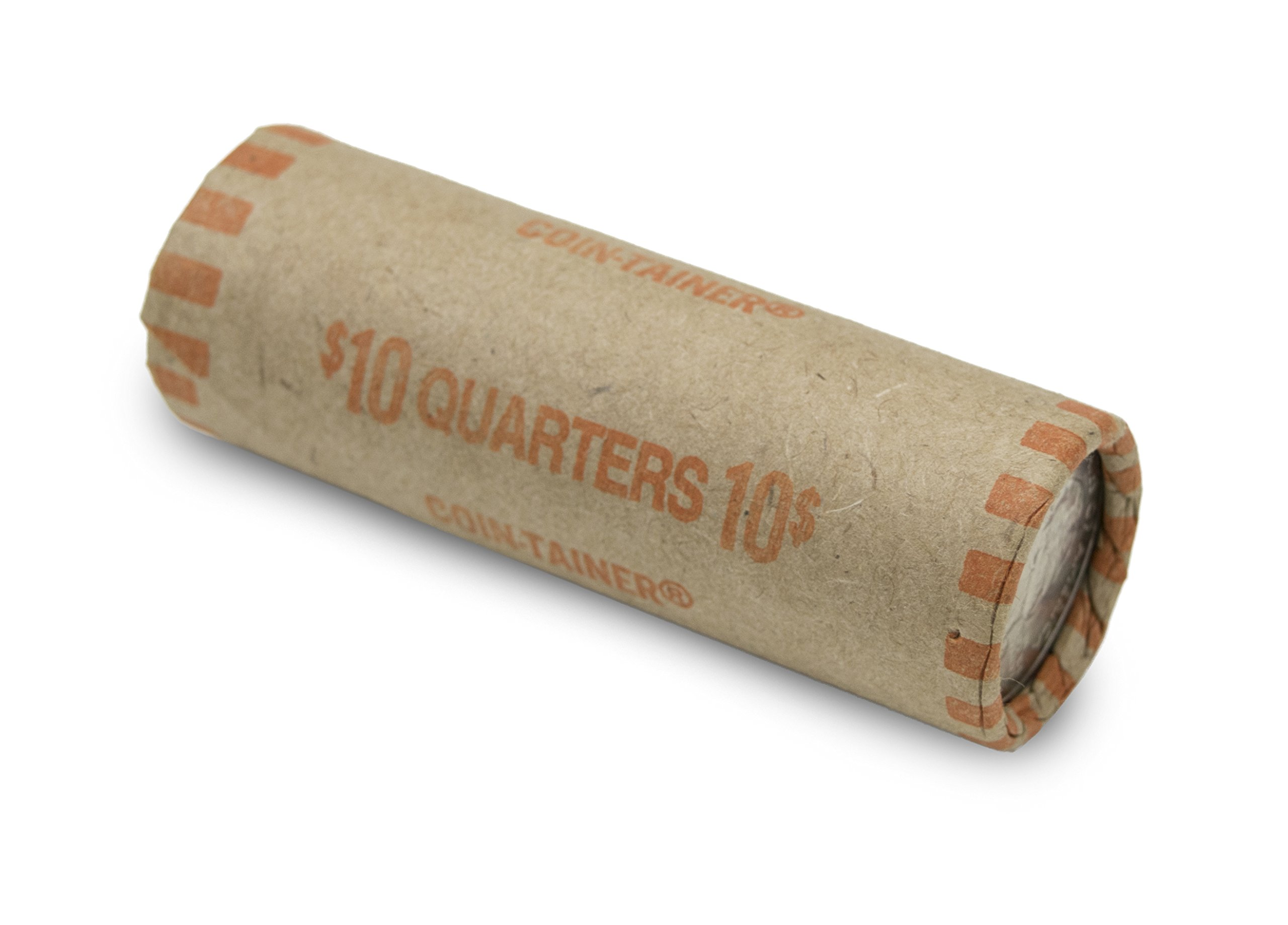 Pre-formed Quarter Coin Wrappers (Box of 1,000)