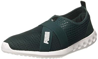 e62690e9faaee PUMA Unisex's Dwane Slip-On IDP Ponderosa Pine White Running Shoes-9 ...