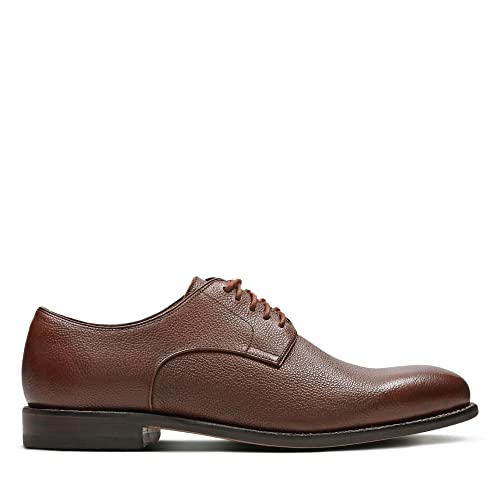 89479876204f3 Clarks Ellis Leon Leather Shoes in Brown: Amazon.co.uk: Shoes & Bags