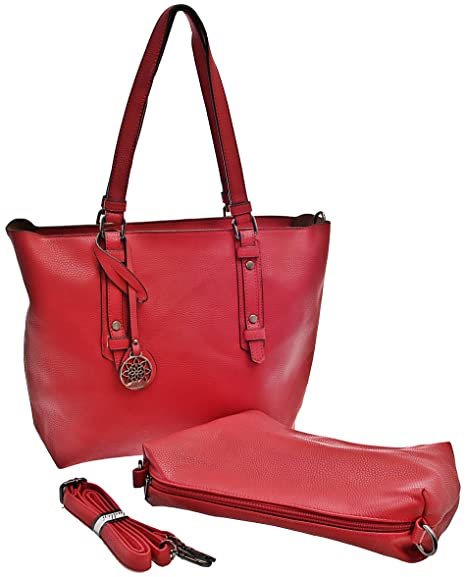 Dudlin Women s Tote Bag red red  Amazon.co.uk  Luggage 3a6c67e79d35b