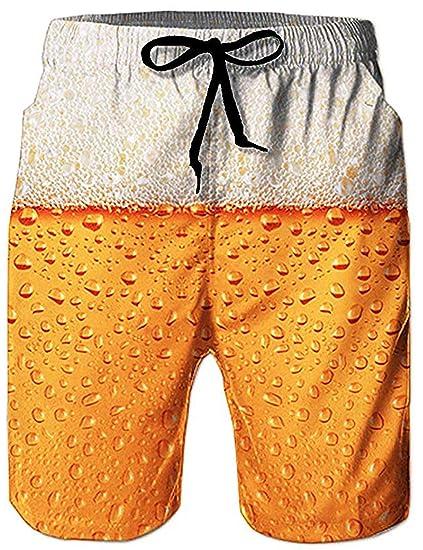 6ff56798ea9d0b Loveternal Homme Short de Bain Séchage Rapide 3D Printed Shorts de Plage  Été Beach Shorts