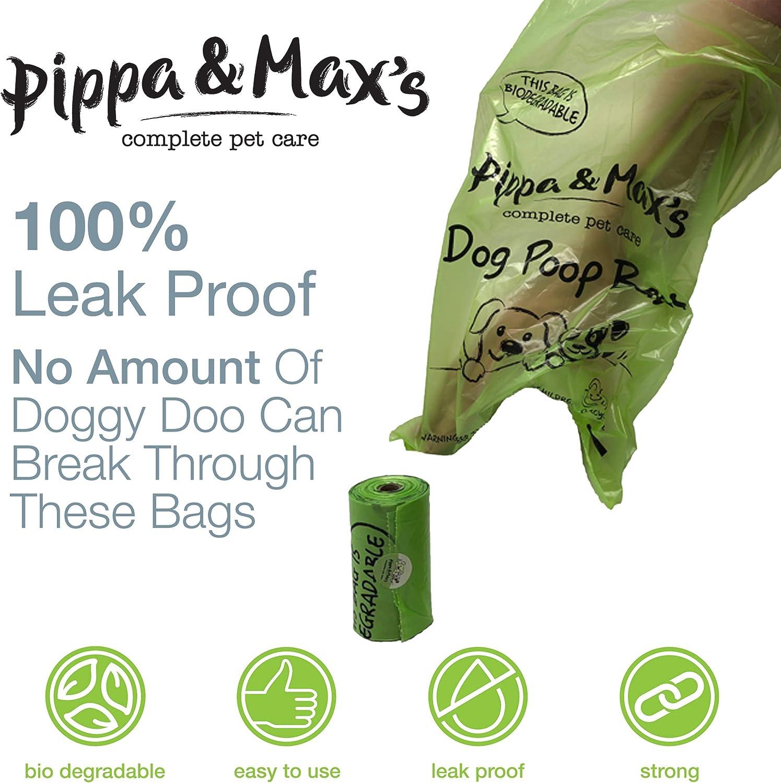 Pippa & Max Bolsas reciclables para Caca de Perro (450) - Bolsas ...