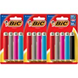 BIC Classic Lighter, Assorted Colors, 3 Pack of 5