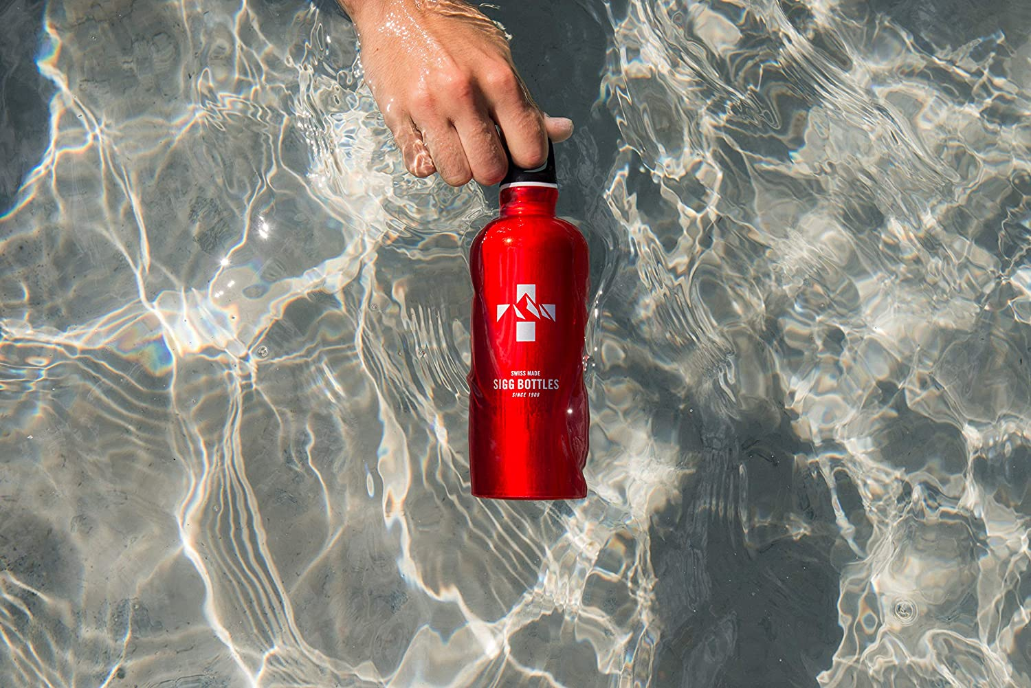 Fabulous Red Sigg 1.0L Water Bottle