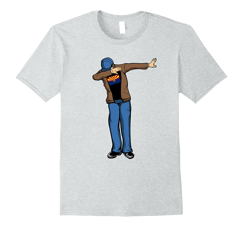 Storecastle Arizona Flag Gift Pride T-Shirt-Vaci