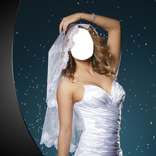 Wedding Gown Photo Montage