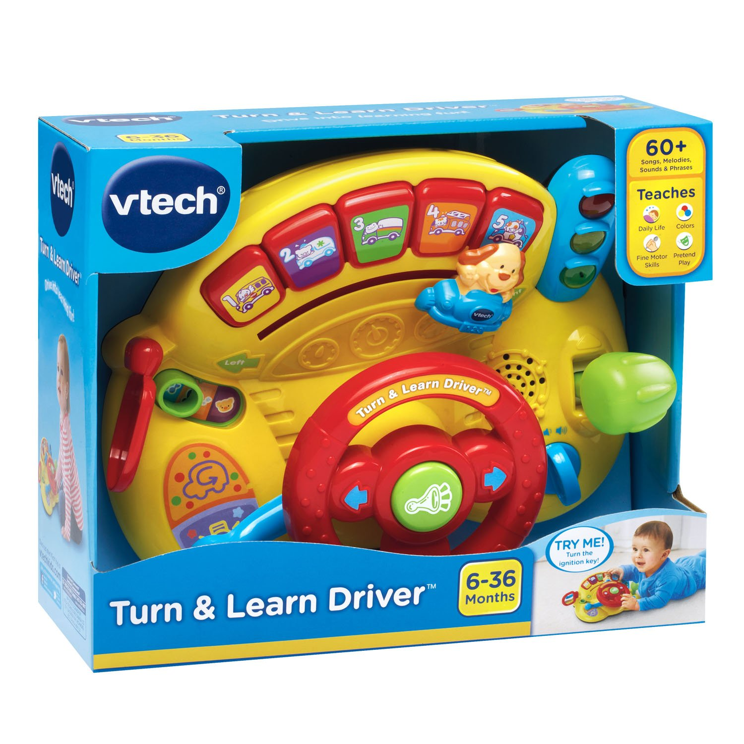 VTech Turn and Learn Driver Amazon Toys & Games