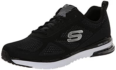 Skechers Sport Men's Skech Air Infinity Oxford,Black/White,7.5 ...