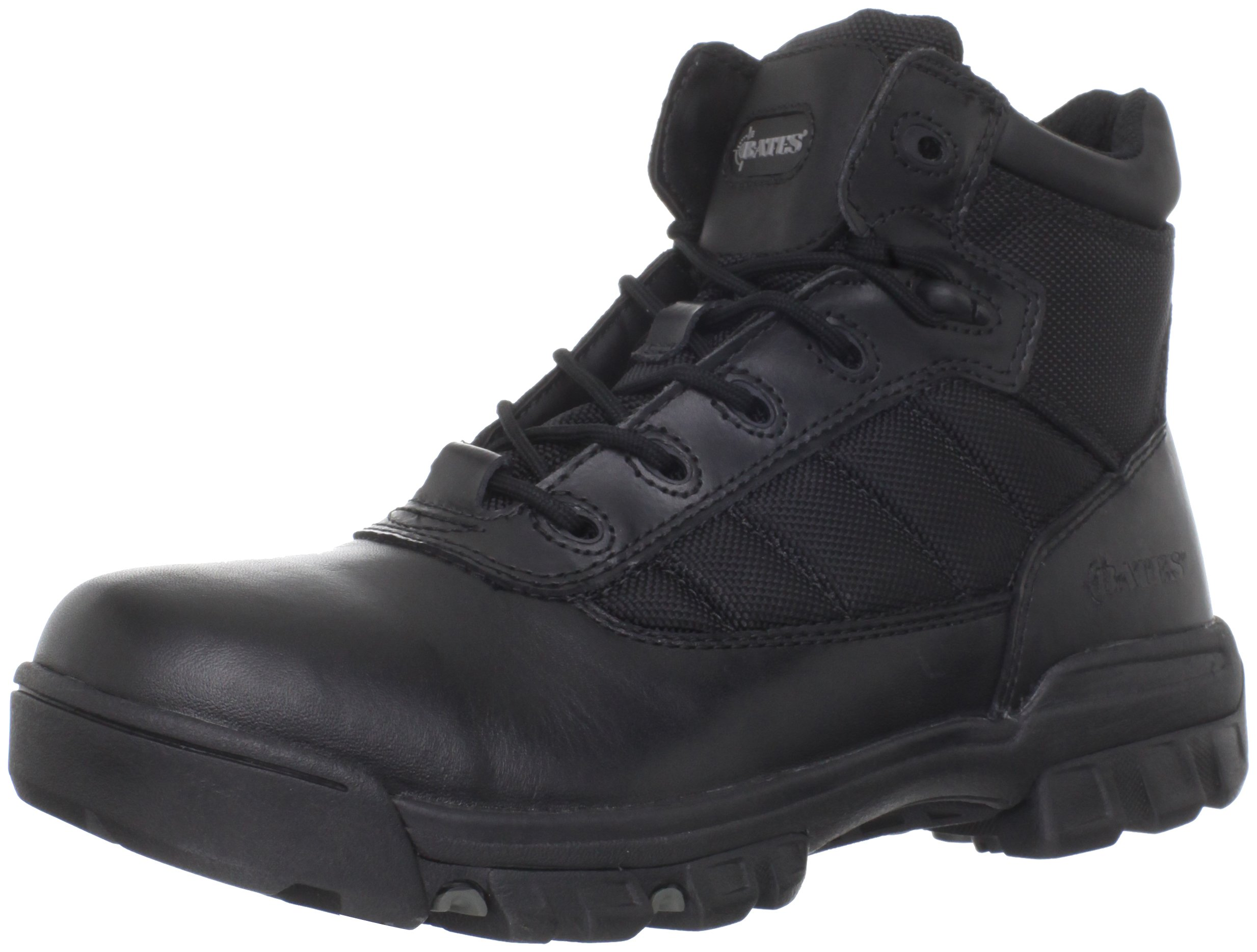 Bates Men's Enforcer 5 Inch Nylon Leather Uniform Boot, Black, 9 M US