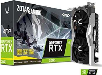 Zotac Gaming GeForce RTX 2060 AMP 6GB Graphics Card + NVIDIA Gift