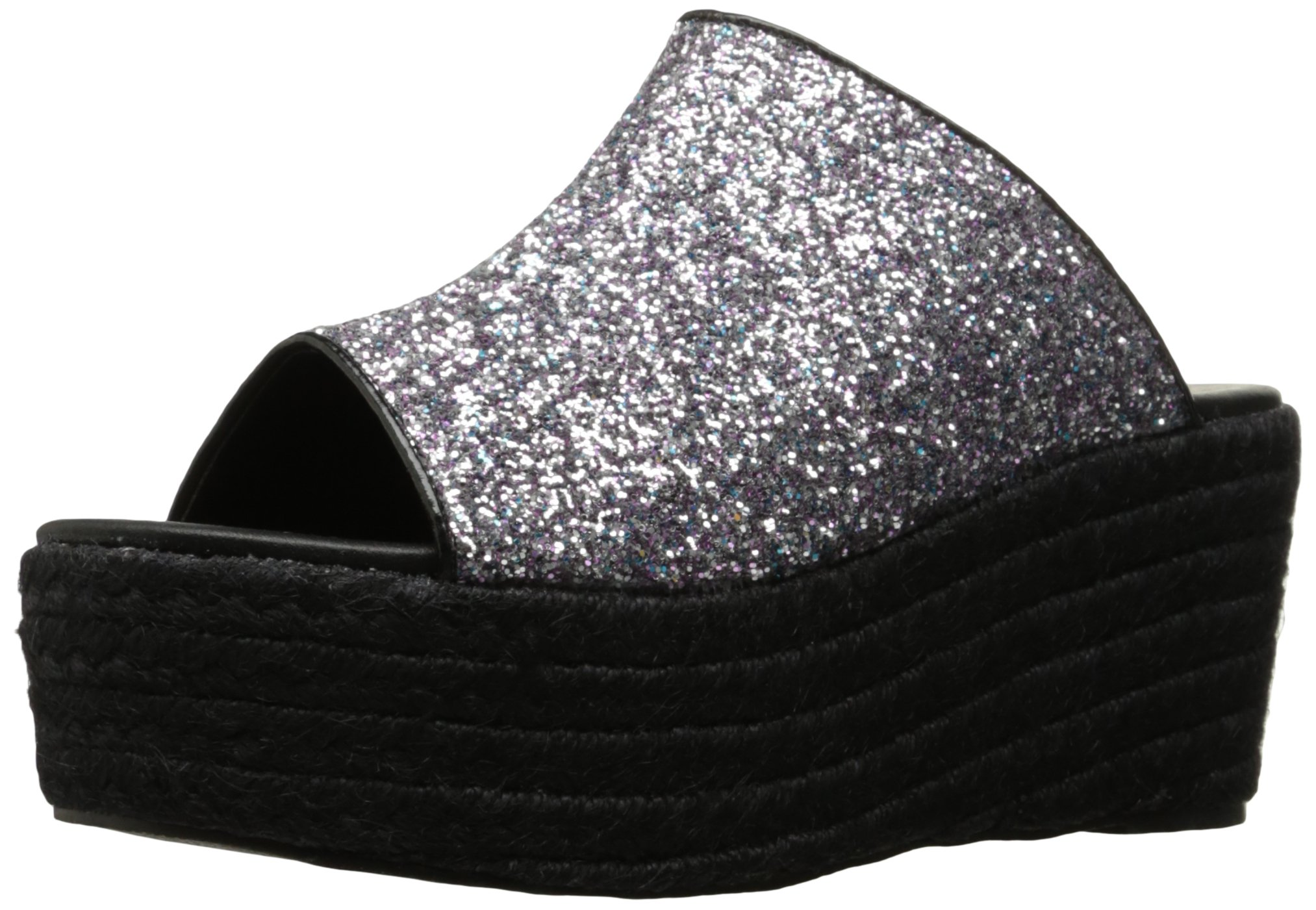 Penny Loves Kenny Women's Fickle Platform Sandal, Black/Multi, 8.5 W US