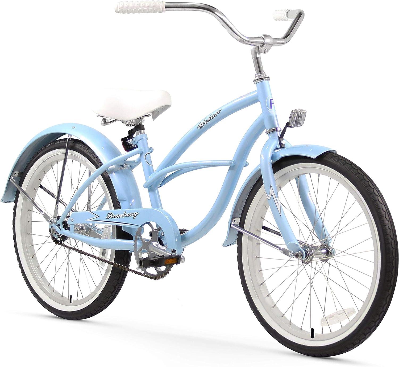 Firmstrong Urbana niña Sola Velocidad Beach Cruiser Bicicleta ...