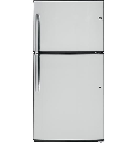 Amazon.com: GE gte21gshss nevera Congelador superior 33