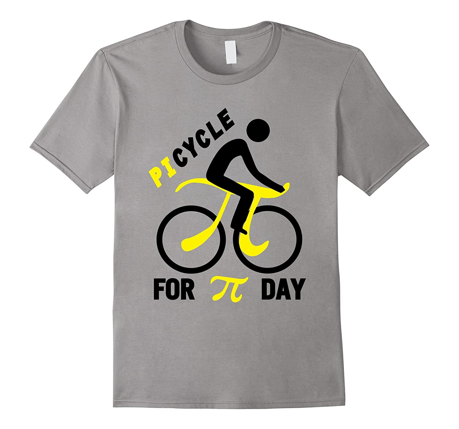 Bicycle Picycle For Pi Day Happy Pi Day T-Shirt-TD