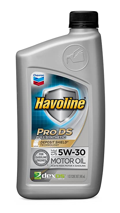Havoline 223503727 5W-30 ProDS Full Synthetic Motor Oil - 1 qt.