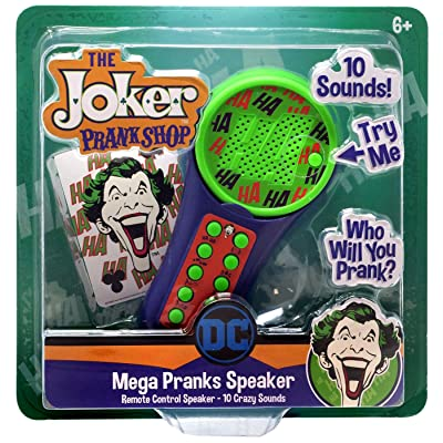 The Joker Prank Shop - Mega Pranks Speaker - Remote Control 10 Crazy Sounds: Beauty