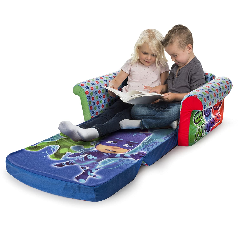 Marshmallow Furniture Childrens 2 In 1 Flip Open Foam Sofa Pj