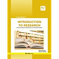PV A TEXTBOOK OF INTRODUCTION TO RESEARCH (GNM INTERNSHIP)