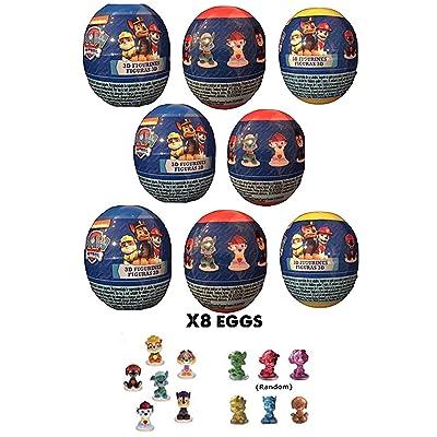 Paw Patrol Super Surprise Eggs x8: Toys & Games