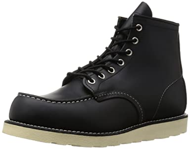 6-inch Classic Moc Toe: 8179 Black Chrome