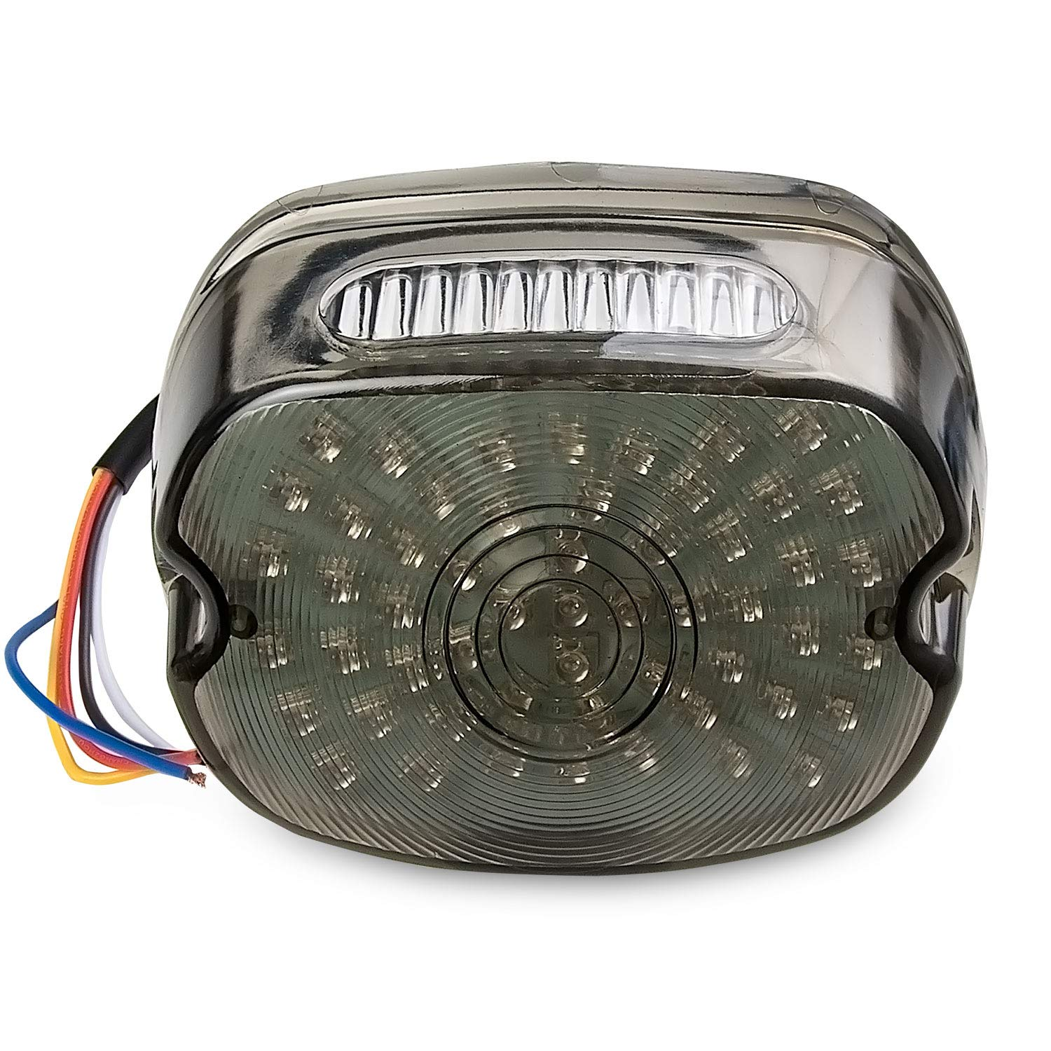 XL1200R Krator Smoke Integrated LED Taillight w//Turn Signals for 1999-2008 Harley Davidson Sportster 1200 Roadster