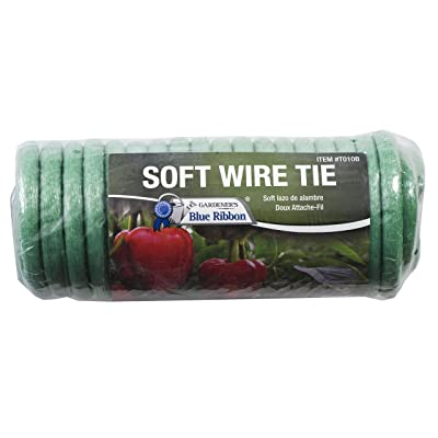 Gardener's Blue Ribbon T010B Soft Wire Tie : Garden & Outdoor